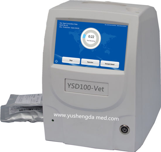 Medical Equipment Ce/ISO Approved Automatic Veterinary Biochemistry Analyzer pictures & photos