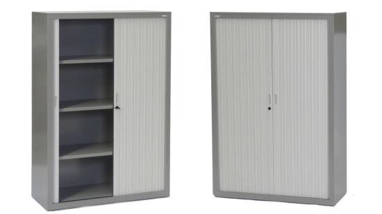 Factory Price Emble Modern Tambour Door Office Cabinet