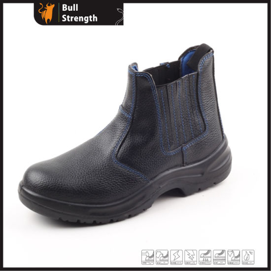 China Rubber Outsole Safety Boot With Elastic Band Sn5119 China