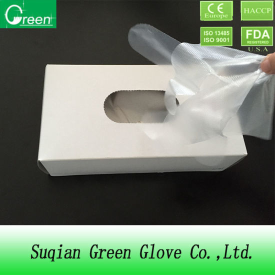 Clear Disposable LDPE Gloves in Bag
