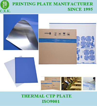 Cxk Thermal Positive CTP Plates pictures & photos