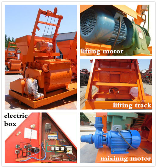 1m3 Great Power High Efficiency Cement  Mixer pictures & photos