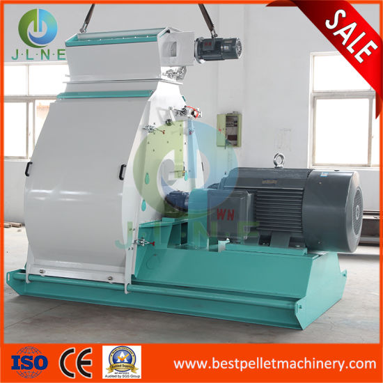 1-5t Wood Branch Crusher Wood Feed Hammer Mill Machine