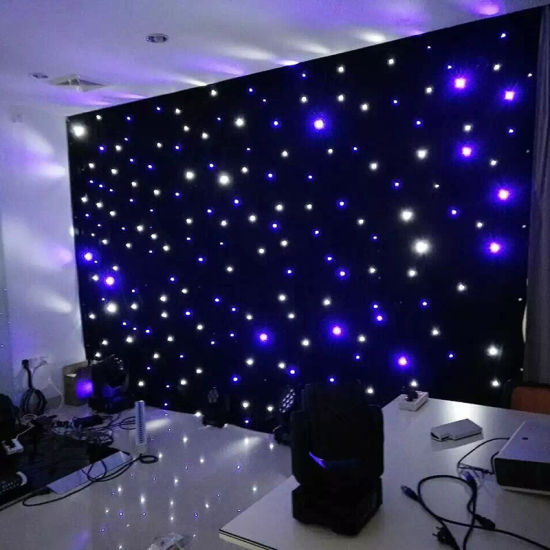 China Bw Led Star Curtain Cloth Light With Ce