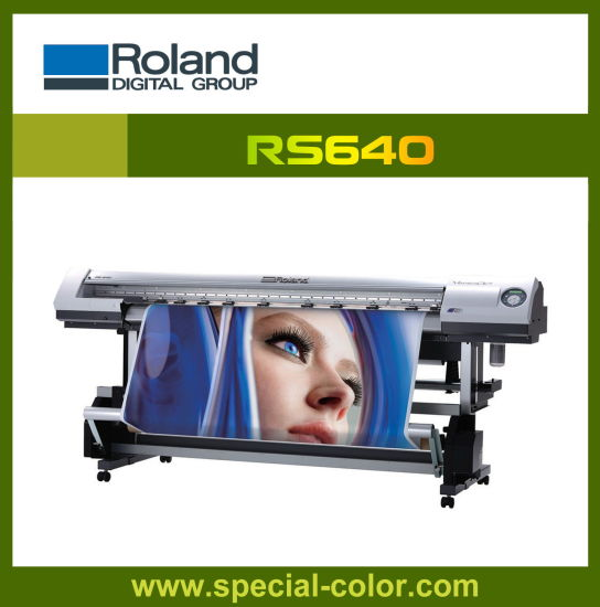 1.6m Roland RS640 Dx4 Solvent Printhead Printer pictures & photos