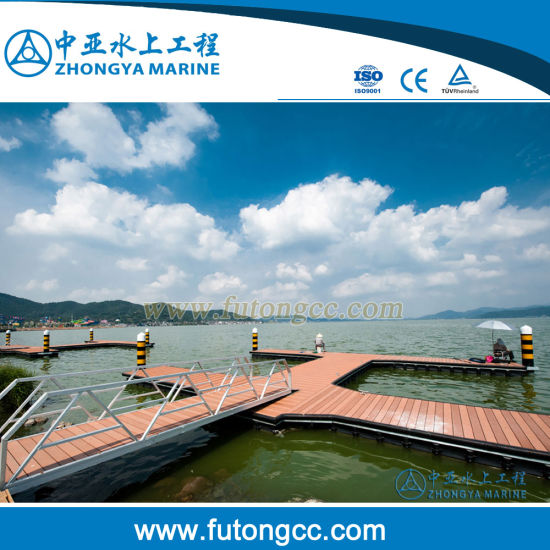Highly Quality Plastic Modular Floating Docks for Boats pictures & photos