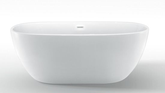 Egg Shape Acrylic Freestanding Bathtub pictures & photos
