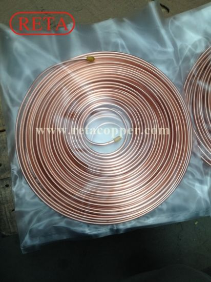 Refrigeration Using Copper Tubes pictures & photos