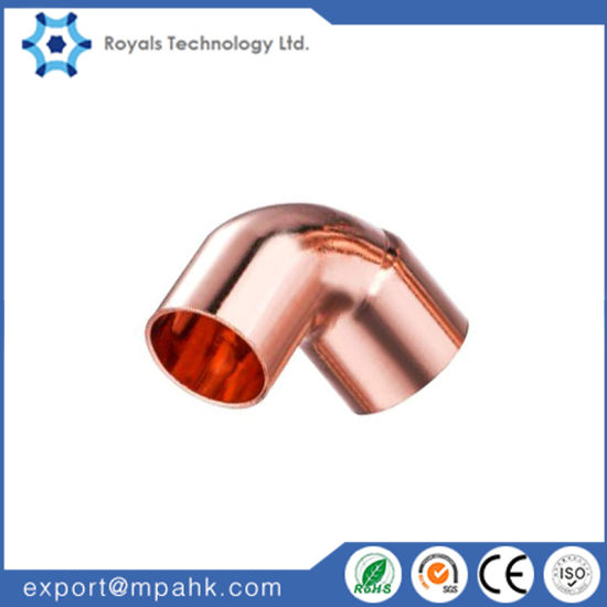 90 Degree Copper Pipe Fitting pictures & photos