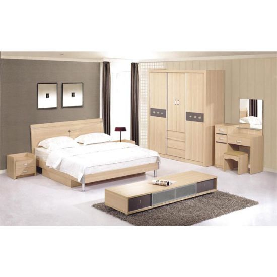 2018 Fashion Type Luxury Hotel Bedroom Furniture Queen Size Bed Used For