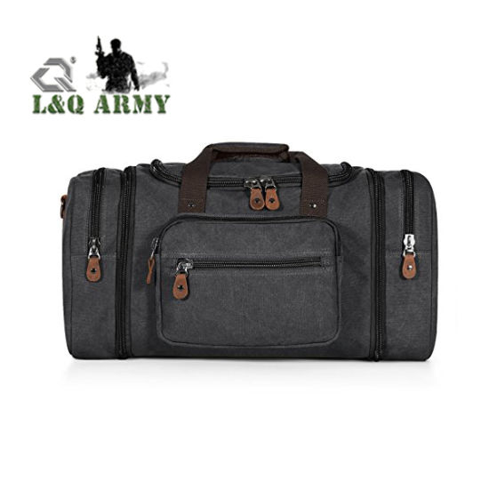 552bec04a5 China 30L Canvas Travel Tote Luggage Men′s Weekender Duffle Bag ...