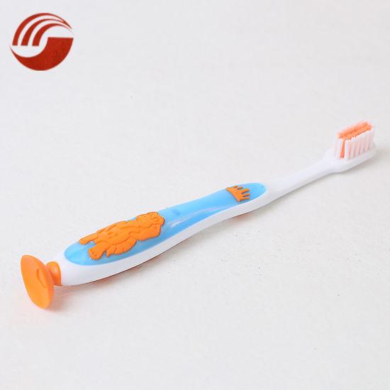 New Custom Cartoon Animal Kid/Child/Children Cute Soft Bristle Toothbrush