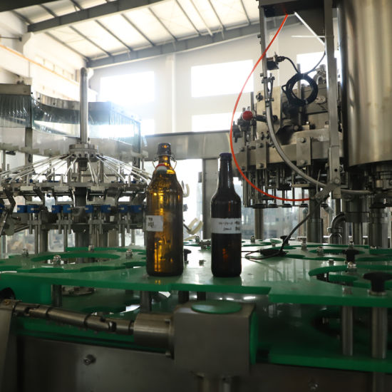 Automatic Glass Bottle Filling Bottling Packing Machine for Beer pictures & photos