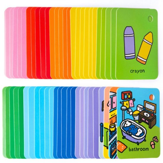 China Kp Wholesale Costom Asl Key Signature Color For Toddlers Art History Printable Sight Word Flash Cards China Flash Card Flashcards For Kids
