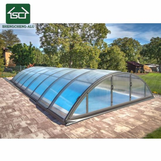 Safe - Curved Swimming Pool Roof - Pool Enclosures/Cover - Pool Shelter
