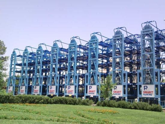 Yiyuan Automated Mechanical Ce Rotating Multistory Car Parking System