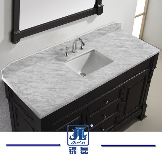 Hot Sale Natural Stone Marble Granite Vanity Top Countertop for Hotel Bathroom Marble Mining Price pictures & photos