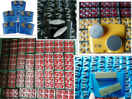 Floor Grinding Shoes Cutting Blades HTC Diamond Tools pictures & photos