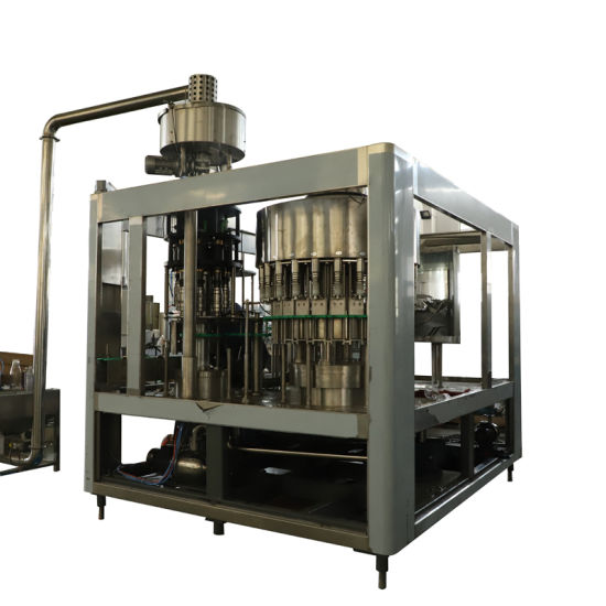 Automatic Washing Capping Monoblock Beverage Juice Liquid Water Filling Machine pictures & photos