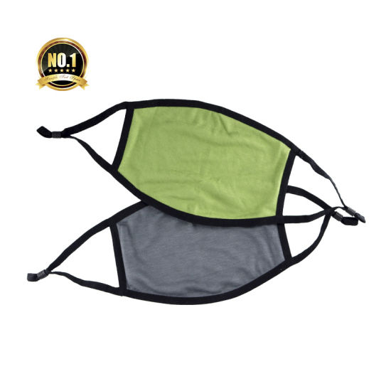 Manufacture Guanhua Breathing Funny Sport Elevate Face Training Bamboo Fiber Face Mask