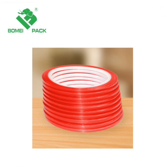 Strong Adhesive Double Sided Pet Red Tape for LED Lighting pictures & photos
