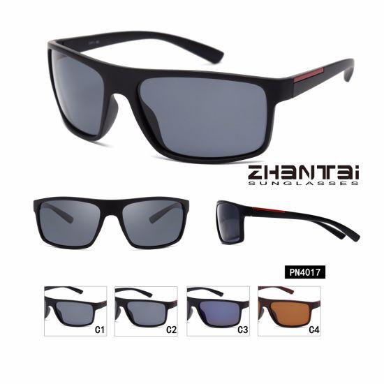 8ad918dea3112 Wholesale Custom Logo Printed Lenses Polarized Sunglasses Men for Driving  (PN4017)