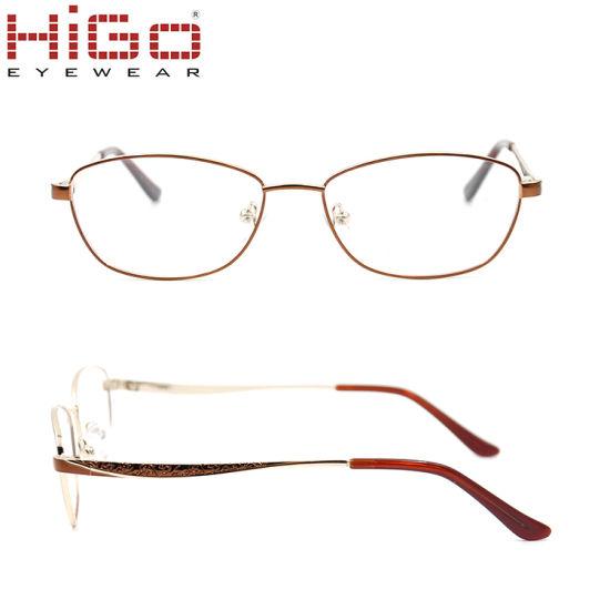 a9587e280d6 2018 China Eyewear Manufacturer New Arrival Metal Optical Eyewear Frame