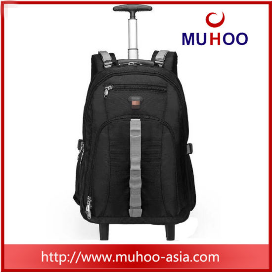 Trolley Luggage Travel School Computer Bag Laptop Backpack for Outdoor pictures & photos