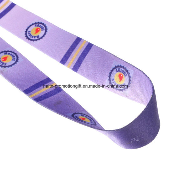 Custom Printing Machine to Make Woven Neck Lanyards pictures & photos