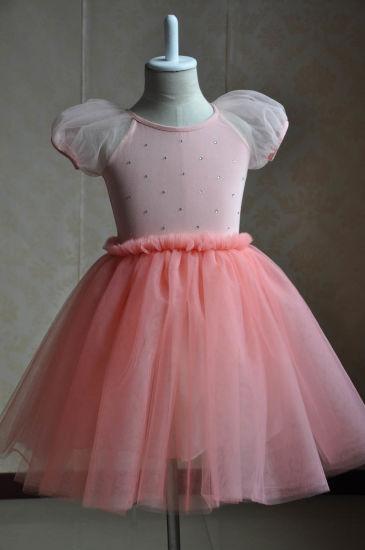 Wholesale Children Clothes Girls Dress Kids Party Prom Dress