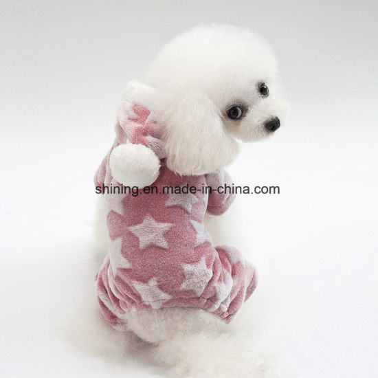 Pet Supply, Soft Fleece Dog Products Winter Jumpsuit Puppy Clothes pictures & photos
