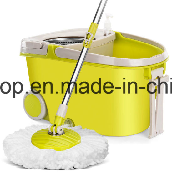 360 Rotating Magic Spin Mop Bucket Floor Cleaner pictures & photos