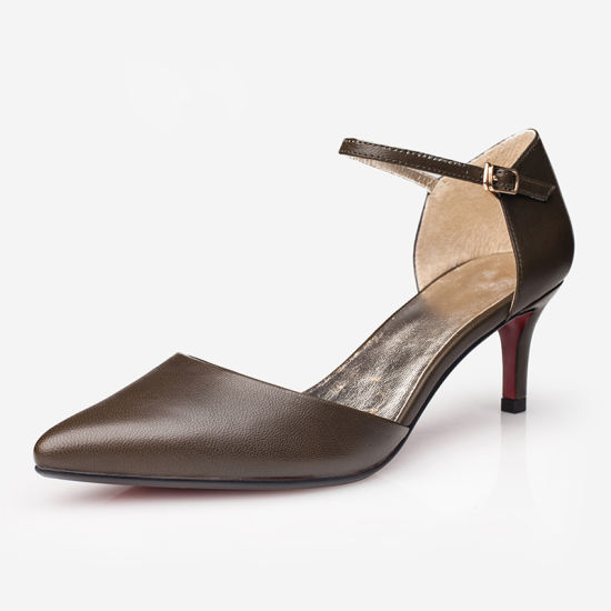 China Hot Sale New Design Ladies Shoes in Middle Heel - China Women ... 83361eb4f