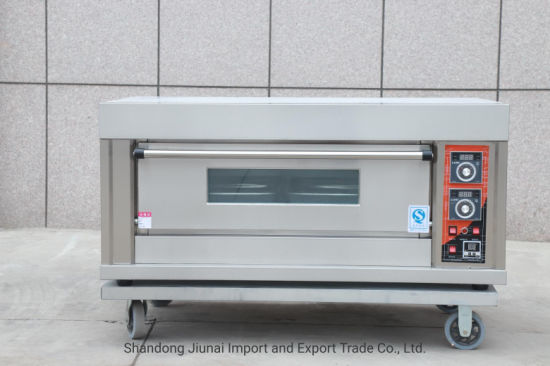 Three Compartment Electric Deck Oven for Bread Baking