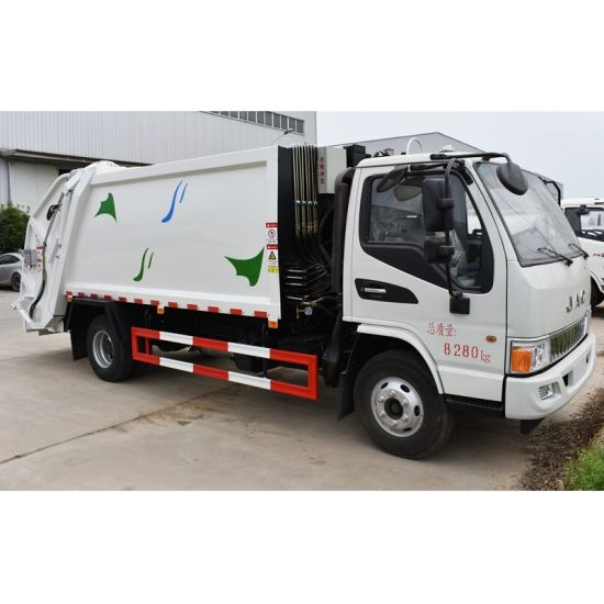 Sale 4X2 4000 Litres or 4 Cubic Meters JAC Back Loaded Compression Garbage Truck pictures & photos