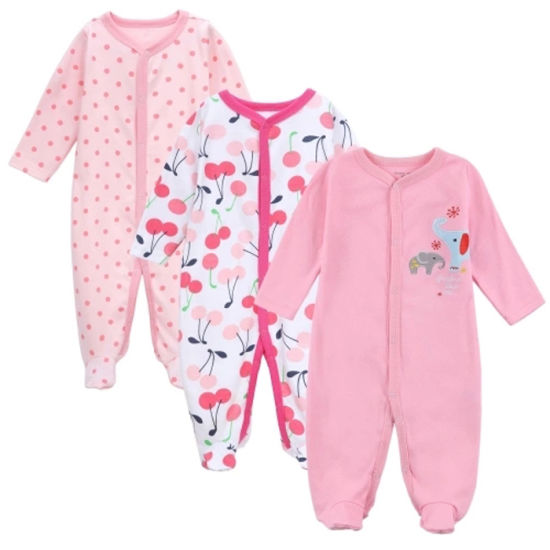 Fashion Footie Organic Cotton Baby Clothes Cute Newborn Baby Romper for New Design