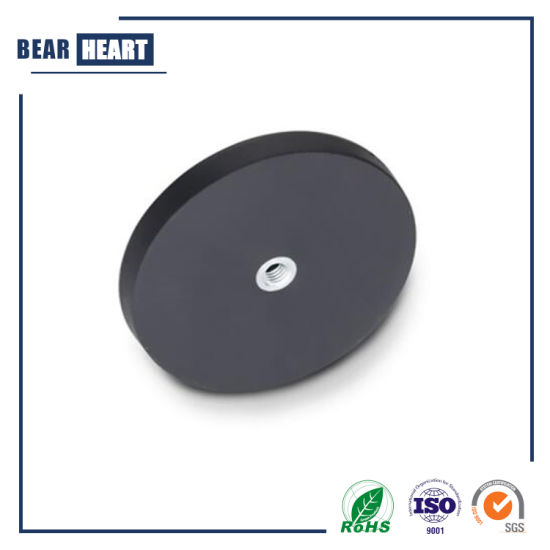 High Quality Rubber Coated Rare Earth Mounting Magnets for Holding
