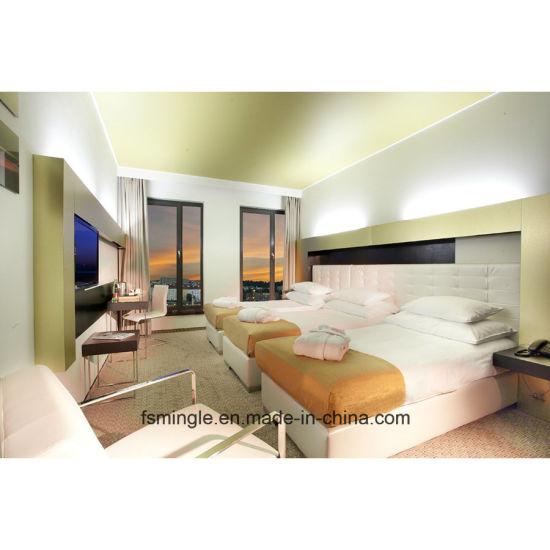 Manufacturer Factory for Bestselling Elegant Hotel Room Furniture Package