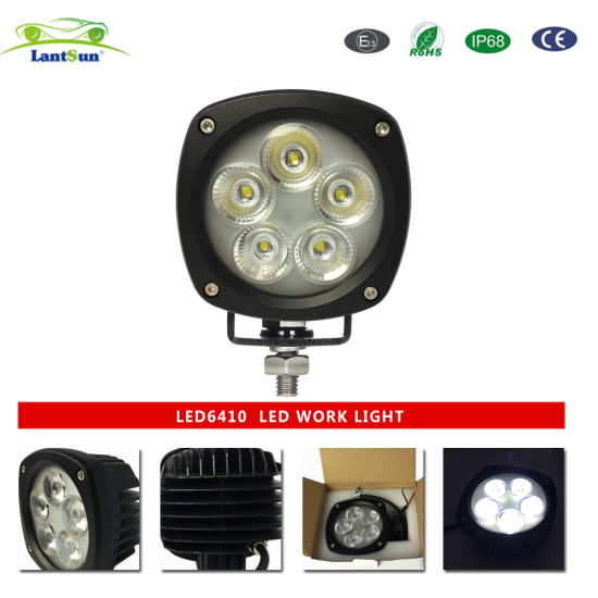 Car Accessory 50W LED Work Light, Automotive LED Working Light LED6410