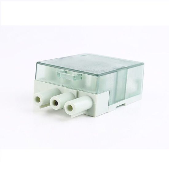 China 3 Pin Pluggable Terminal Block, Male and Female