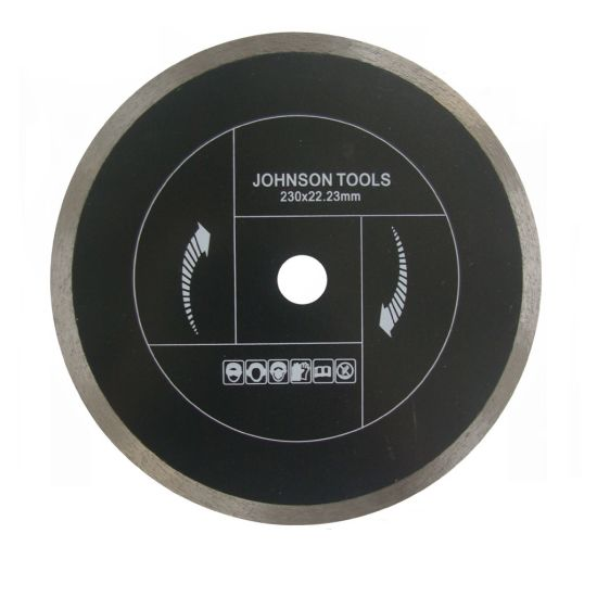 100-350mm Diamond Sintered Continurous Saw Blade for Fast Cutting Ceramic