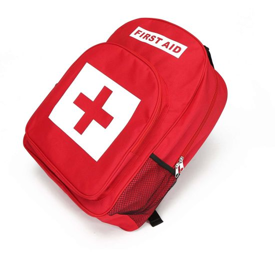 China Backpack for First Aid Kits Pack Emergency Treatment or Hiking,  Backpacking, Camping, Travel, Car & Cycling - China First Aid Kit, Emergency  Kit