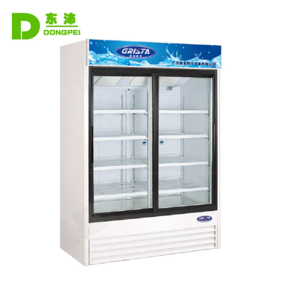 Commercial Refrigerated Display Vertical Refrigerated Showcase