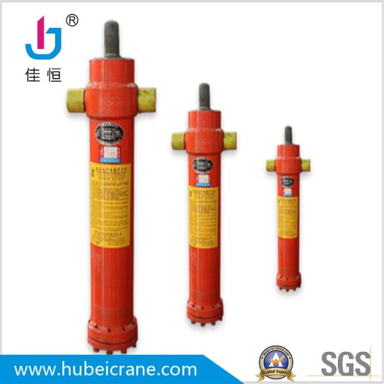 China supply Single Acting Piston Hydraulic Cylinder for dump truck