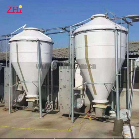 Fiberglass Feed Silo Tank for Pig Farm Chicken Duck Farm