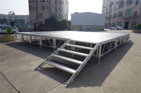 Aluminum Stage Equipment Mobile Stages Outdoor Concert Stage for Event pictures & photos