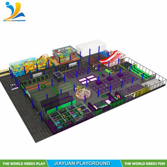 The Best Trampoline Park Supplier-Jiayuan Playground