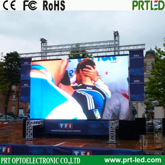 Full Color Video Display, Rental LED Display Screen for Indoor Outdoor Advertising (P 3.91, P 4.81, P 5.95, P 6.25)