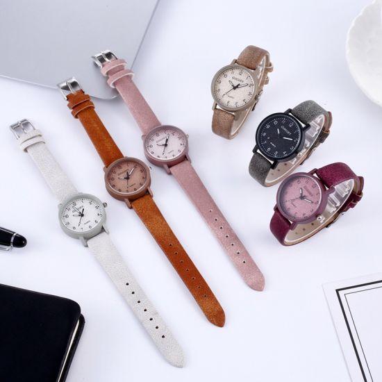 Women Watches Fashion Minimalism Bracelet Watch Woman Relogio Leather