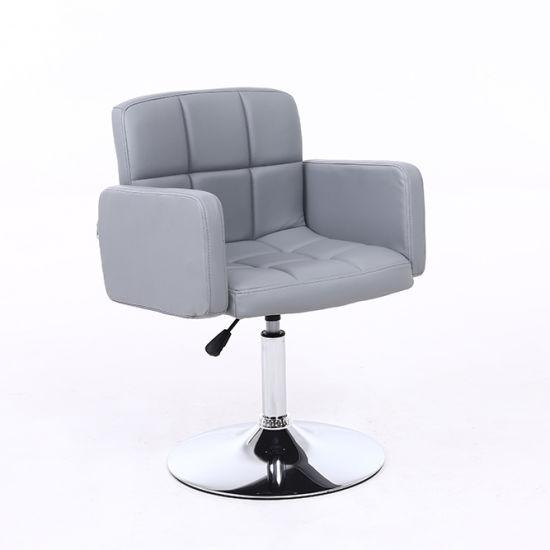 Modern Design PU Leather Swivel Metal Chair Office Chair
